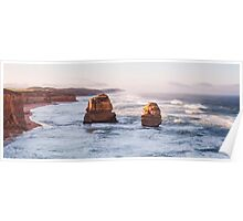 The twelve apostles as sunrise Poster