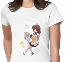 Clannad - Nagisa Womens Fitted T-Shirt