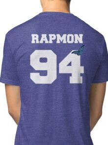 BTS- RAPMON 94 Line Butterfly Jersey Tri-blend T-Shirt