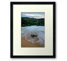 Free Passage Framed Print