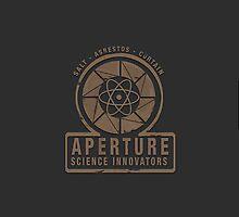 1940s Aperture Science Laboratories Logo by Samuel Fenton