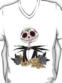 Dia de los Muertos - Nightmare Before Christmas T-Shirt