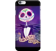 Dia de los Muertos - Nightmare Before Christmas iPhone Case/Skin