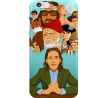 The World of Wes Anderson iPhone Case/Skin