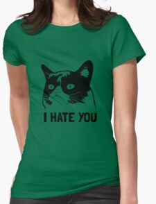 Grumpy Cat hates you! T-Shirt
