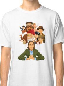 The World of Wes Anderson Classic T-Shirt