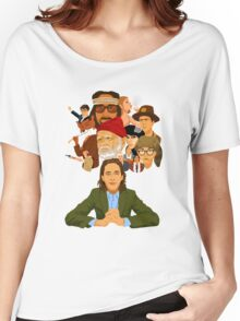 The World of Wes Anderson Women's Relaxed Fit T-Shirt