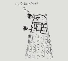 Dr Who - Dalek Sketch by lingus