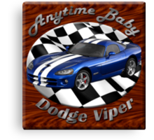 Dodge Viper Anytime Baby Canvas Print