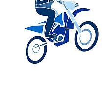 Blue Dirk Biker by kwg2200
