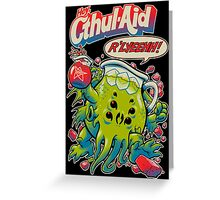 CTHUL-AID Greeting Card