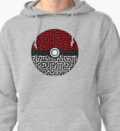 Pokeball Maze Pullover Hoodie