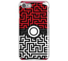 Pokeball Maze iPhone Case/Skin