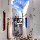 Mykonos Lane by Tom Gomez
