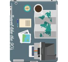 THE TRAVELLER'S DESK ( like the 90's)  iPad Case/Skin