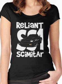 Reliant Scimitar SS1 Women's Fitted Scoop T-Shirt