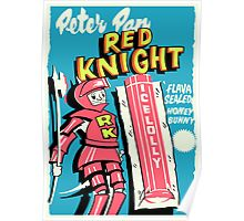 Peter Pan Red Knight Poster