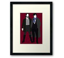 Ichabod Crane and Sherlock Holmes (BBC Version) Framed Print