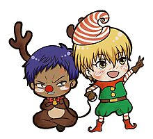 Aomine the red nose reindeer Photographic Print
