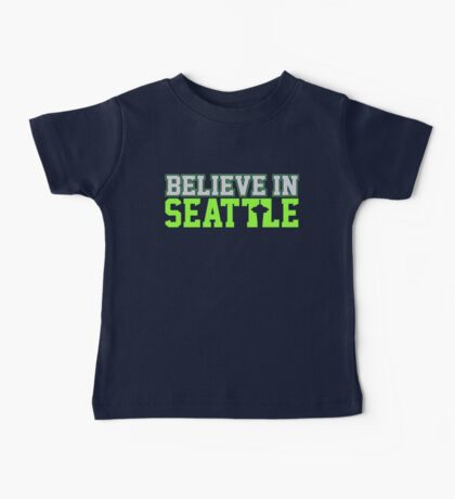"VICTRS ""Believe In Seattle"" Baby Tee"