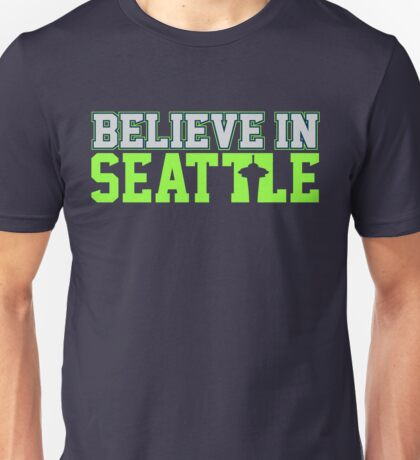 "VICTRS ""Believe In Seattle"" Unisex T-Shirt"