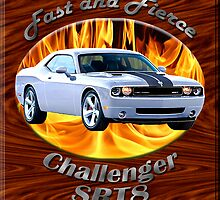Dodge Challenger SRT8 Fast and Fierce by hotcarshirts