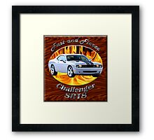 Dodge Challenger SRT8 Fast and Fierce Framed Print
