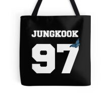 BTS- JUNGKOOK 97 Line Butterfly Jersey Tote Bag