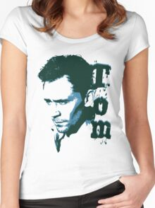 Tom Hiddleston Women's Fitted Scoop T-Shirt