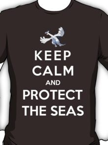 Keep Calm And Protect The Seas T-Shirt