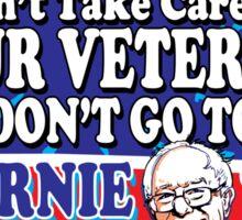 Bernie Sanders For Our Veterans Sticker