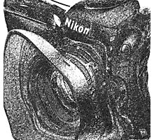 Camera ala Nikon Photographic Print
