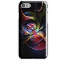 Abstract Colour Flare iPhone Case/Skin