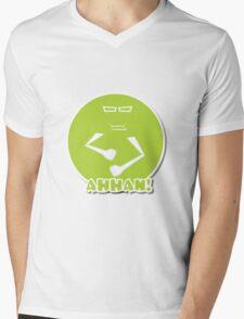 FACES   AAHAAN!! - DESI EMOTIONS  Mens V-Neck T-Shirt