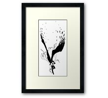Angel Slayer Framed Print
