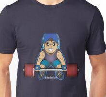 Do you even lift? Gym Tee, weights, training, insanity, intense, dumbbell Unisex T-Shirt