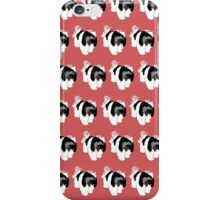 Light Red Puppy Pattern iPhone Case/Skin