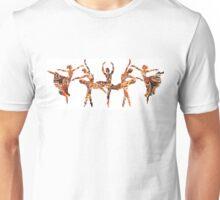 Passionate Floral Dance Unisex T-Shirt