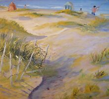 Padre Island Dunes by Gerard Bahon