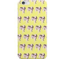 Yellow Puppy Pattern iPhone Case/Skin
