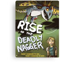 Rise of the Deadly Nagger Canvas Print