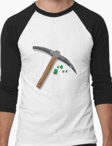 Minecraft T-shirt Men's Baseball ¾ T-Shirt