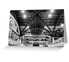 Liverpool Street Station Greeting Card
