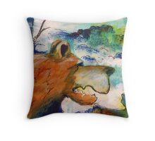 Art at High Speed Throw Pillow