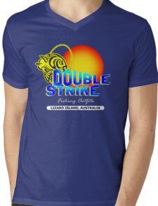 Double Strike Australia Mens V-Neck T-Shirt