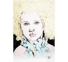 ALBINO GIRL.... Photographic Print