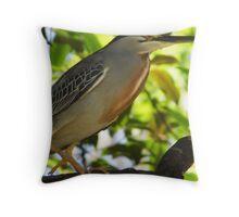 Heron, Brazil Throw Pillow