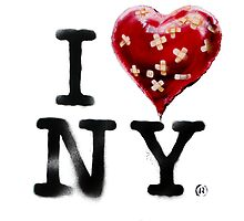 Banksy Loves NY by banksytshirt