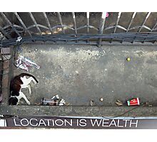Location is Wealth Photographic Print
