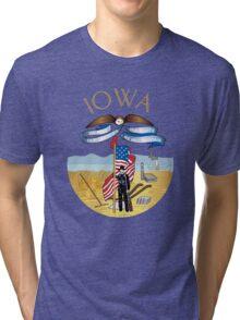 Iowa Tri-blend T-Shirt